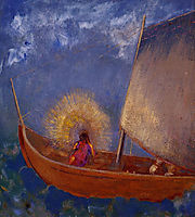 Mysterious Boat, c.1897, redon