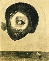 Photograph of Guardian Spirit of the Waters, 1878, by en0Odilon Redon in the public domain., redon
