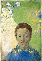 Portrait of Ari Redon, c.1898, redon
