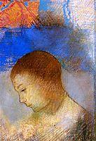 Portrait of Ari Redon in Profile, redon