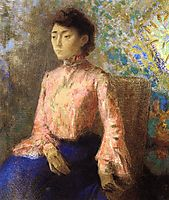Portrait of Jeanne Chaine, 1903, redon