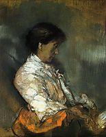 Portrait of Madame Redon, c.1911, redon