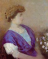 Portrait of the Marquis de Gonet, 1907, redon