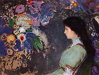 Portrait of Violette Heymann, 1910, redon