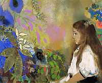 Portrait of Yseult Fayet, 1908, redon