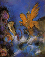 Roger and Angelica, c.1910, redon