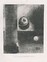There were also embryonic beings, 1885, redon
