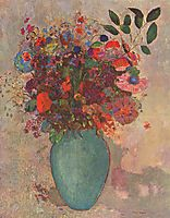 The Turquoise Vase, c.1911, redon