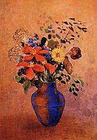 Vase of Flowers, c.1900, redon