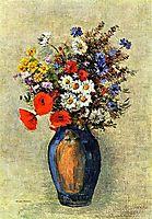 Vase of Flowers, c.1904, redon