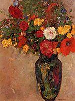 Vase of Flowers, c.1910, redon