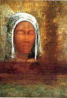 Virgin of the Dawn, 1890, redon