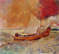 Yellow Boat, c.1910, redon