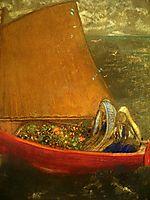 The Yellow Sail, c.1905, redon