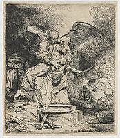 Abraham-s Sacrifice, 1655, rembrandt