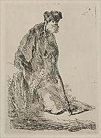 An Old Man with a Bushy Beard, rembrandt