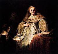 Artemisia, 1634, rembrandt