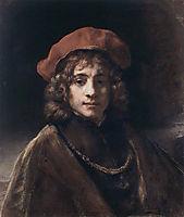 The Artist-s Son Titus, 1657, rembrandt