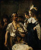 TheBeheadingof JohntheBaptist, rembrandt