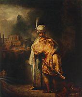 Biblical Scene, 1642, rembrandt