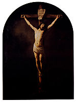 Christ On The Cross, 1631, rembrandt