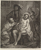 Christ Crowned with Thorns, rembrandt
