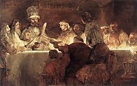 The Conspiration of the Bataves, 1661-1662, rembrandt