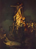 Descent from the Cross, 1634, rembrandt