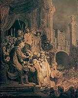 Ecce Homo, 1634, rembrandt