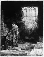 Faust, 1652, rembrandt