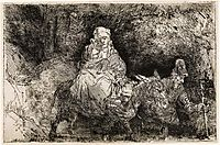 The Flight into Egypt, rembrandt