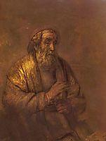 Homer, 1663, rembrandt