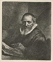 Jan Cornelis Sylvius, 1634, rembrandt
