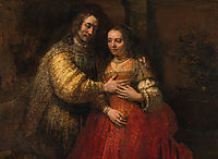 The Jewish Bride, 1665, rembrandt