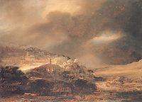 Landscape, rembrandt