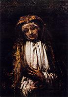 Mater Dolorosa, 1660, rembrandt