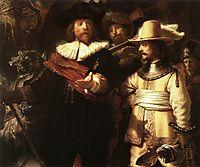 The Nightwatch, detail 1, 1642, rembrandt