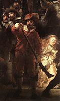 The Nightwatch, detail 2, 1642, rembrandt