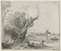 The Omval, 1645, rembrandt