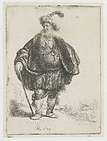 The Persian, 1632, rembrandt