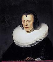 Portrait Of Alijdt Adriaensdr, 1639, rembrandt