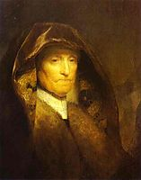 Portrait of the Artist-s Mother, rembrandt