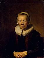 Portrait of Baertje Martens, 1640, rembrandt