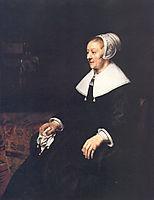 Portrait of Catrina Hooghsaet, 1657, rembrandt