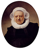 Portrait Of An Eighty Three Year Old Woman, 1634, rembrandt