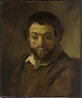 Portrait of a Jewish Young Man, 1648, rembrandt