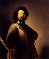 Portrait Of Joris de Caullery, 1632, rembrandt
