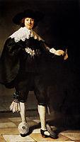 Portrait Of Maerten Soolmans, 1634, rembrandt
