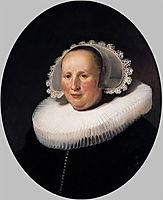 Portrait of Maertgen van Bilderbeecq, 1633, rembrandt
