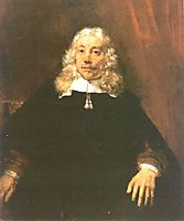 Portrait of a Man, 1667, rembrandt